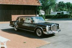 """#21. Mercedes-Benz 600 (W100 SWB). From the days when """" big pimpin' """"  involved more than a set of blingy rims."""