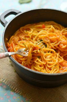 one pot pasta skillet recipe