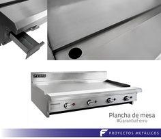 Plancha de mesa, producto ferro- Cocinas Idustriales