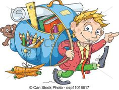 Buy The Boy Goes to School by mammothis on GraphicRiver. Cheerful student with a big backpack goes to school. Big Backpacks, Three Boys, Business Photos, Good Parenting, School Boy, Illustrations, Clipart, My Children, Graphic Prints