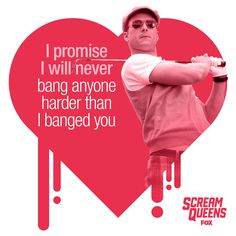No one speaks the language of love like Chad Radwell. Save and share his Valentines and watch the sparks fly. Queen Watch, Glen Powell, Best New Shows, Scooby Doo Mystery Incorporated, Sweet Talker, The Dark Knight Trilogy, Queen Photos, World Of Gumball, Cards
