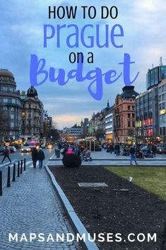 If you're heading to Prague, you have to check out my ultimate Prague travel guide. It includes 6 tips on how to do Prague on a budget, plus so much more! Read it here: https://www.mapsandmuses.com/prague-travel-guide-prague-on-a-budget/ | City Guide | Prague | Prague Czech Republic | Prague Travel | Prague Things to Do | Prague on a Budget | Budget Travel Tips | Prague Travel Guide | #cityguide #prague #budgettravel #czechrepublic #traveltips #travelblog