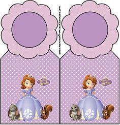 Princesa Sofía: tarjetería para imprimir gratis. 17 imprimibles diferentes.