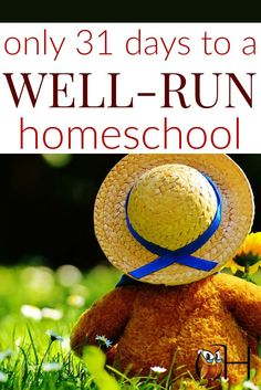 homeschool organization, schedules, time management, teaching tips, and more!
