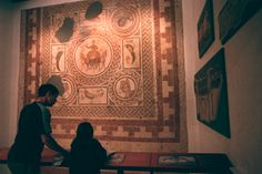 Mosaics at Hull & East Riding Museum