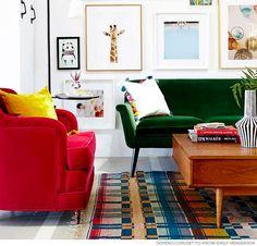 Sofás a todo color ¿por qué no? #BlogHomy #Homy