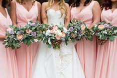 peach purple and green wedding flowers True Love Stories, Love Story, Purple And Green Wedding, Irish Wedding, Bridesmaid Dresses, Wedding Dresses, Love Couple, Wedding Flowers, Peach