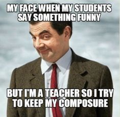 face when a student say something funny Funny Teacher Memes, perfect for back to school. Share with your favorite teachers.my face when a student say something funny Funny Teacher Memes, perfect for back to school. Share with your favorite teachers. Thank You Memes, Funny Thank You, You Funny, Memes Humor, Meme Meme, Funny School Memes, Funny Memes, Funny Shit, Hilarious