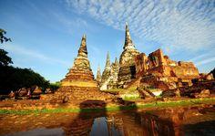 Ayutthaya - http://www.destinationthailand.co.th/ayutthaya/