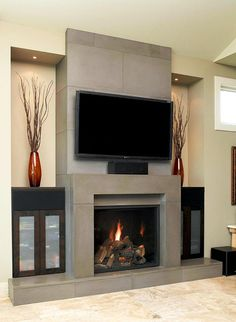 Contemporary Fireplace With Design Ideas Fireplace Contemporary Fireplace