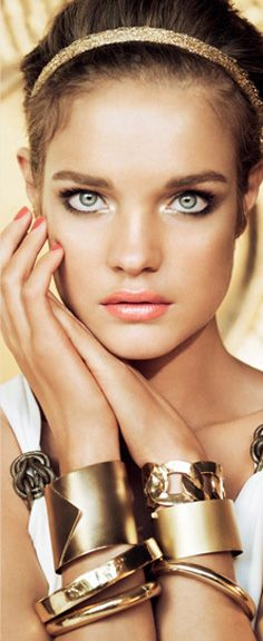 Natalia Vodianova Guerlain Terra Ora Summer Collection