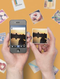 Use @Sticky9 to make magnets from your Instagrams!