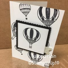 stampin Up lift me up occassions catalogue Kites, Hot Air Balloon, Pinwheels, Cardmaking, Stamping, Card Ideas, Balloons, Catalog, Projects To Try