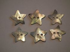 Mother-of-pearl-shell-buttons-star-square-round-flower-heart-natural-white