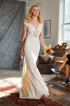 Romantique by claire pettibone on pinterest little white for Wedding dresses in denver co