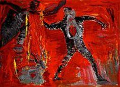 Art by Inge Ellegaard, Denmark 1953-2010, Decembristerne, De Unge Vilde