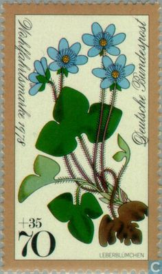 Germany, Federal Republic [DEU] - Flowers 1978