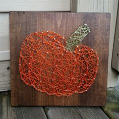 Made to Order String Art Sign Pumpkin Sign by BlossomingBurlap