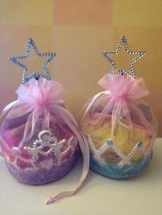 Princess Party Favor Bags by thefavorfairies on Etsy, $5.00. Cute for a little girl party someday