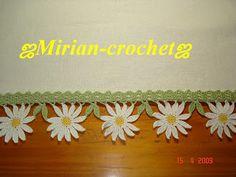 ஜMirian-receitas de crochêஜ: Barradinho em crochê