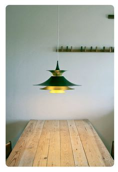 Danish design hanging lamp Radius by Erik Balslev by OldAndCold, $260.00