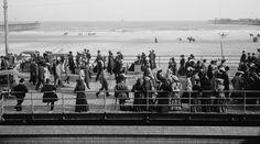 Atlantic City NJ beach & boardwalk, c. 1905