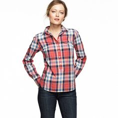 Factory plaid popover: I want you!