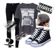 """""""Eminem"""" by stilinskiismybatman ❤ liked on Polyvore featuring Ström, Topshop, CellPowerCases, Avenue and Mary Kay"""