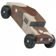 Cub Scouts Pinewood Derby - the boy wants to make this one