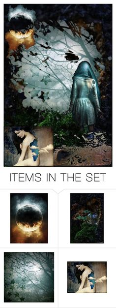 """""""Automagically Free"""" by stonesongspirit ❤ liked on Polyvore featuring art, MAGICAL, woman and artflashmob8"""