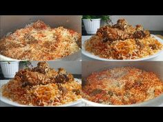 Muslim Style Chicken Biryani Recipe ♥️ | Eid Ki Dawat Special Biryani Recipe ♥️ - YouTube Curry Recipes, Veggie Recipes, Indian Food Recipes, Cooking Recipes, Ethnic Recipes, Indian Foods, Indian Snacks, Indian Dishes, Veggie Food