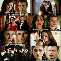 Haylijah - my ultimate ship. So perfect Vampire Diaries Quotes, Vampire Diaries Wallpaper, Vampire Diaries The Originals, Tv Show Quotes, Movie Quotes, Series Movies, Tv Series, Elijah The Originals, Hayley And Elijah