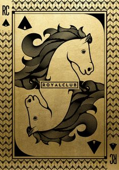 Chinese New Year - Year of the Horse. Illustration for the Day of the God of fortune. ROYALCLUB, Shanghai.