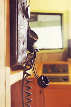 Old telephone in office | Alcatraz | San Francisco Bay by missnbiss, via Flickr