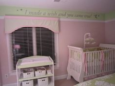 Sweet girls nursery