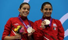 MEXICO | Wins Silver medal Women's Synchronised 10m Platform - Mexico has been killing it in diving!