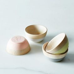 Mini Bowls (Set of 4): Bowled over. #food52