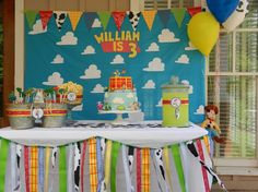 Wonderful First Birthday Party Decoration Ideas for Boys : Cool Birthday Party…