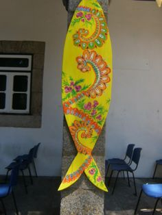 sardinha Surfboard, Diy Artwork, Surfboard Table, Surfboards