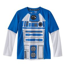 Star Wars a Collection for Kohl's R2-D2 Skater Tee - Boys 4-7x