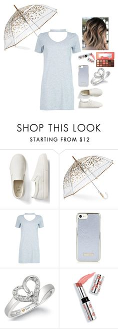 """""""Fix You-Coldplay Inspired Outfit"""" by lucaspenguin on Polyvore featuring Gap, ShedRain, Boohoo, Ciaté and Too Faced Cosmetics"""