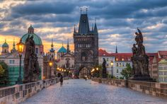 #12 Karluv Most (Charles Bridge)  Prague's exquisite Medieval stone bridge, lined with Baroque statuary. Prague's busy showpiece square, dominated by the Old Town Hall, and best known for its astronomical clock.    #02 Petrin  Take the funicular up the wooded hill of Petrin, home to a mirror …