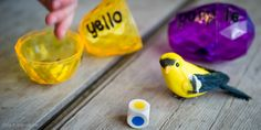 Re-using Filler Eggs: Colour Match Game