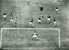 Brazil 1 Wales 0 in 1958 in Gothenburg. The build up to the Brazilian goal in the World Cup Quarter Final.