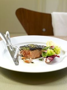 Ocean trout with chermoula crust - Gourmet Traveller