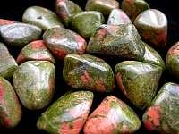 Unakite Tumbled Stone has gentle but powerful energy. It can assist one in finding our animal guide. It can be used at work or home, spreading calming energies