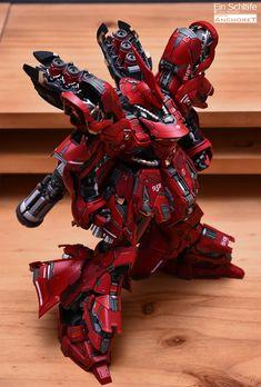 GUNDAM GUY: MG 1/100 Sazabi Ver. Ka - Customized Build Arte Gundam, Gundam Art, Armor Concept, Concept Art, Robo Transformers, Cyberpunk, Gundam Toys, Mecha Suit, Gundam Wallpapers