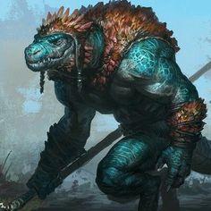 Lizard macho spearman