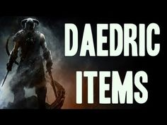 Skyrim - Infinite Daedric Item Guide