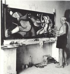 "A picture is a sum of destructions."" —Picasso"